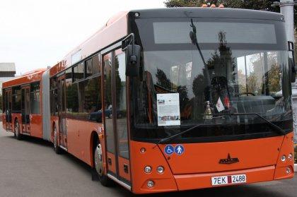 Презентация автобусов МАЗ в Санкт-Петербуге