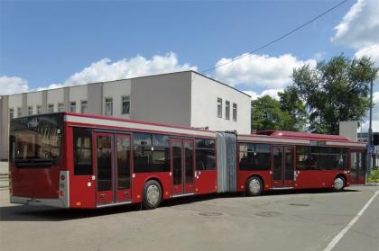 Тест-драйв автобуса МАЗ-205069