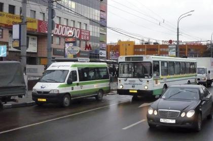 В Москве появилось новое маршрутное такси