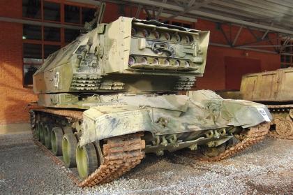 Ретро-parking в Военно-техническом музее