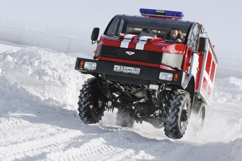Российский грузовик Silant на базе ГАЗ-66 удивляет своими возможностями