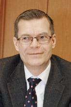 Генеральный директор компании «Скания – Русь» Ханс Тарделль