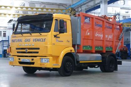 КАМАЗ участвует в автопробеге «Голубой коридор 2011»