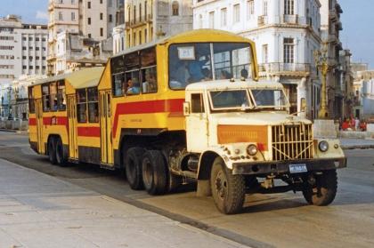 Куба: заповедник для грузовиков