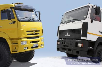 КАМАЗ планирует к концу года создать совместное предприятие с МАЗом