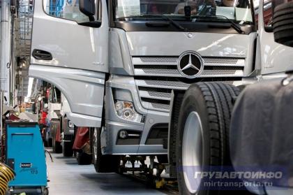 В Германии началось производство Mercedes-Benz Actros IV