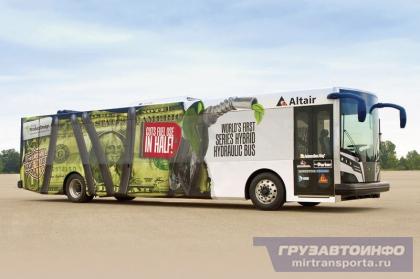 Гидрогибридный городской автобус LCO-140H