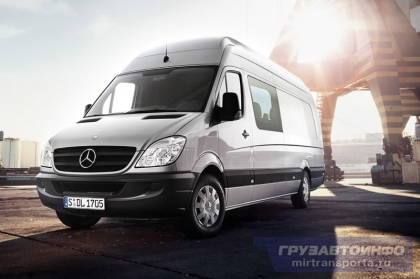 Daimler и «Группа ГАЗ» будут ежегодно собирать по 9000 Mercedes-Benz Sprinter