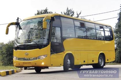 Маленький наследник — автобус Higer 6826Q