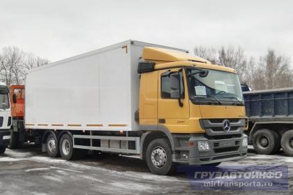 Mercedes-Benz Actros 2541L с надстройкой МАЗ-Купава-67MS