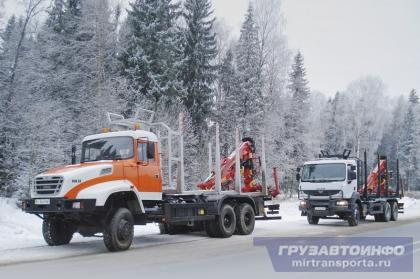 Российский дебют украинских лесовозов