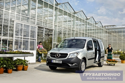 Городской «Титан» — Mercedes-Benz Citan