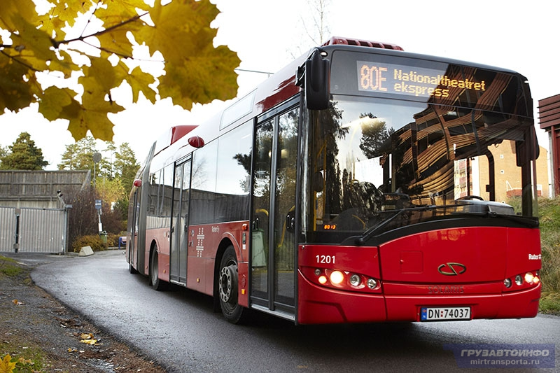 автобусы солярис фото