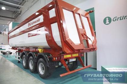 Grunwald представил новинки для перевозки сельскохозяйственных грузов