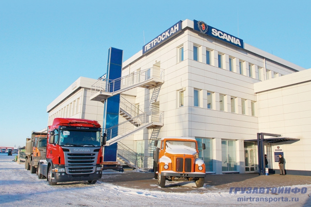 Старейшина. Фирсервис Scania в Санкт-Петербурге