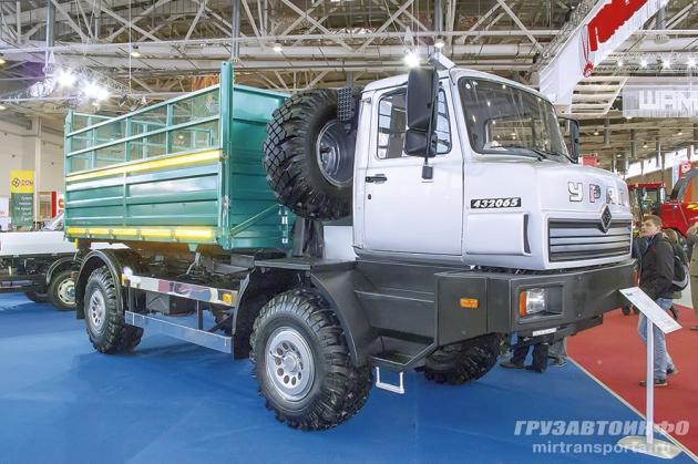 Адаптивный аграрий: сельхозгрузовик Урал-432065