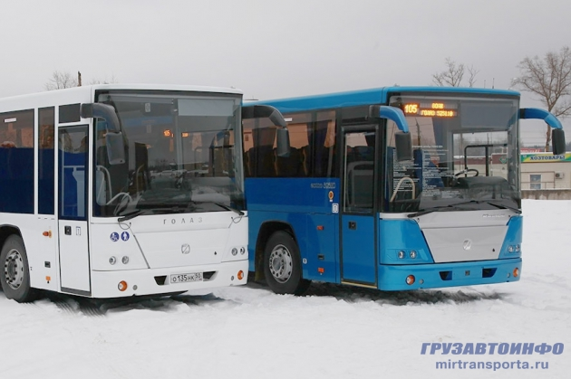 ГолАЗ - автобусы-олимпийцы