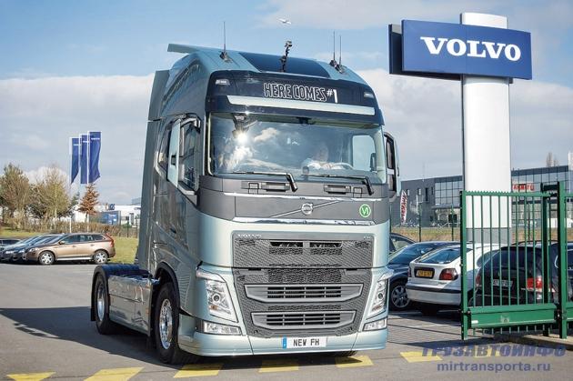Первый Volvo FH нового поколения отправился к владельцу