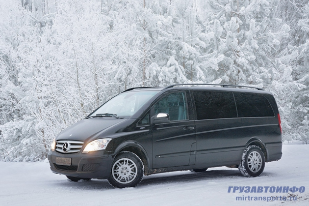 Mercedes-Benz Viano - един в трех лицах
