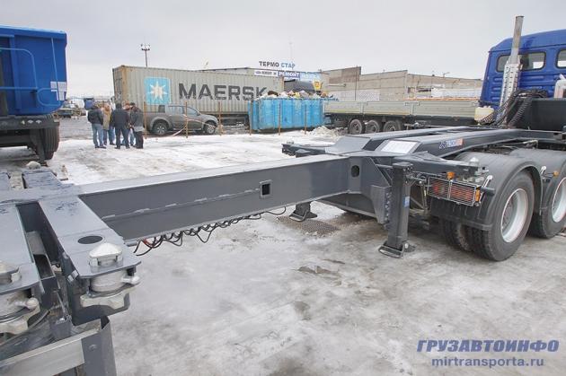 Самосвальные премьеры завода «Тонар»