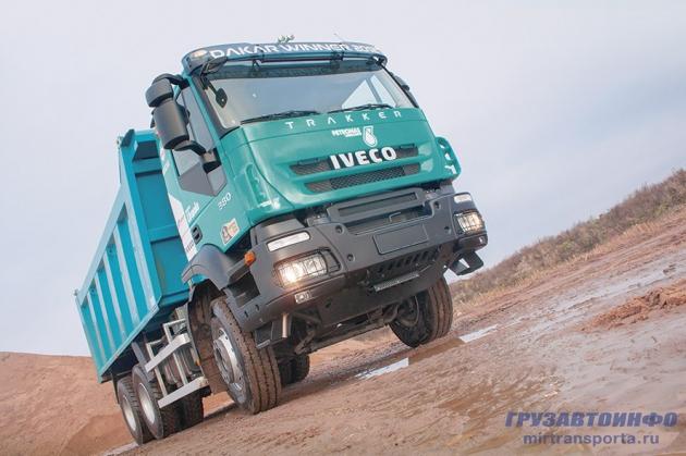 Коллекционное издание – самосвал IVECO Trakker Dakar