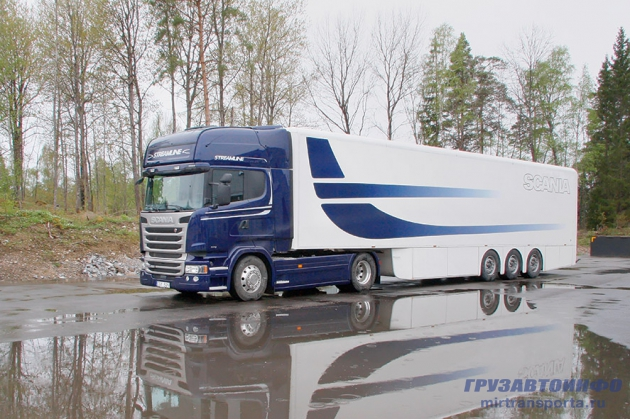 Восемь процентов. Презентация Scania Streamline