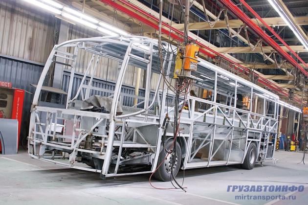 Олимпийский дух автобусов ГолАЗ для Сочи' 2014