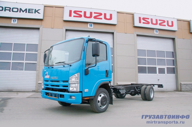 Кореец против японца: Hyundai HD78 vs Isuzu NPR75