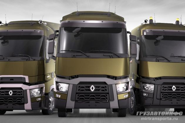 Новый модельный ряд Renault Trucks в Калуге